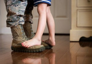 Military parents are in a sense, penalized for their service because service duties often make it difficult for military parents to fight a custody battle.