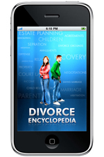Divorce IPhone Application - Screen 1
