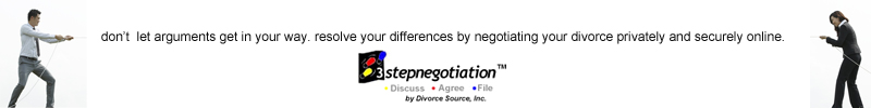 Negotiate Your Divorce Online