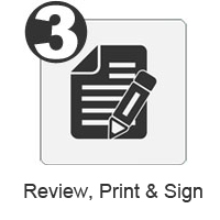 3. Review, Print, & Sign